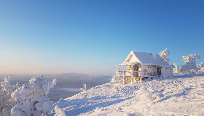 Santa Claus Cabin - Joulupukin maja winter