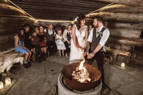 Lapland Wedding Family