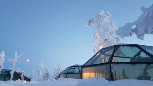 Glass Igloos Levi