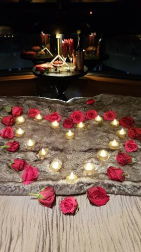 Wedding Roses Lapland Igloo